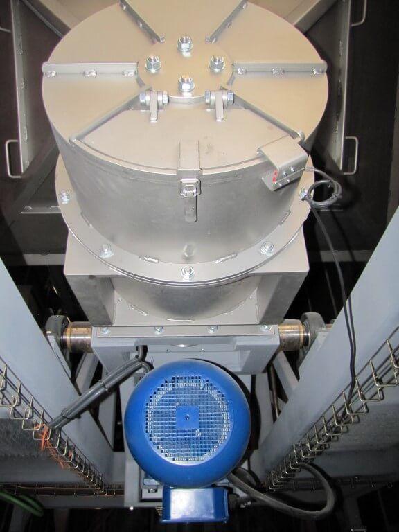 como funciona un elevador de granos