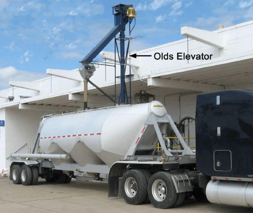 Lorri para cargar camiones cisterna